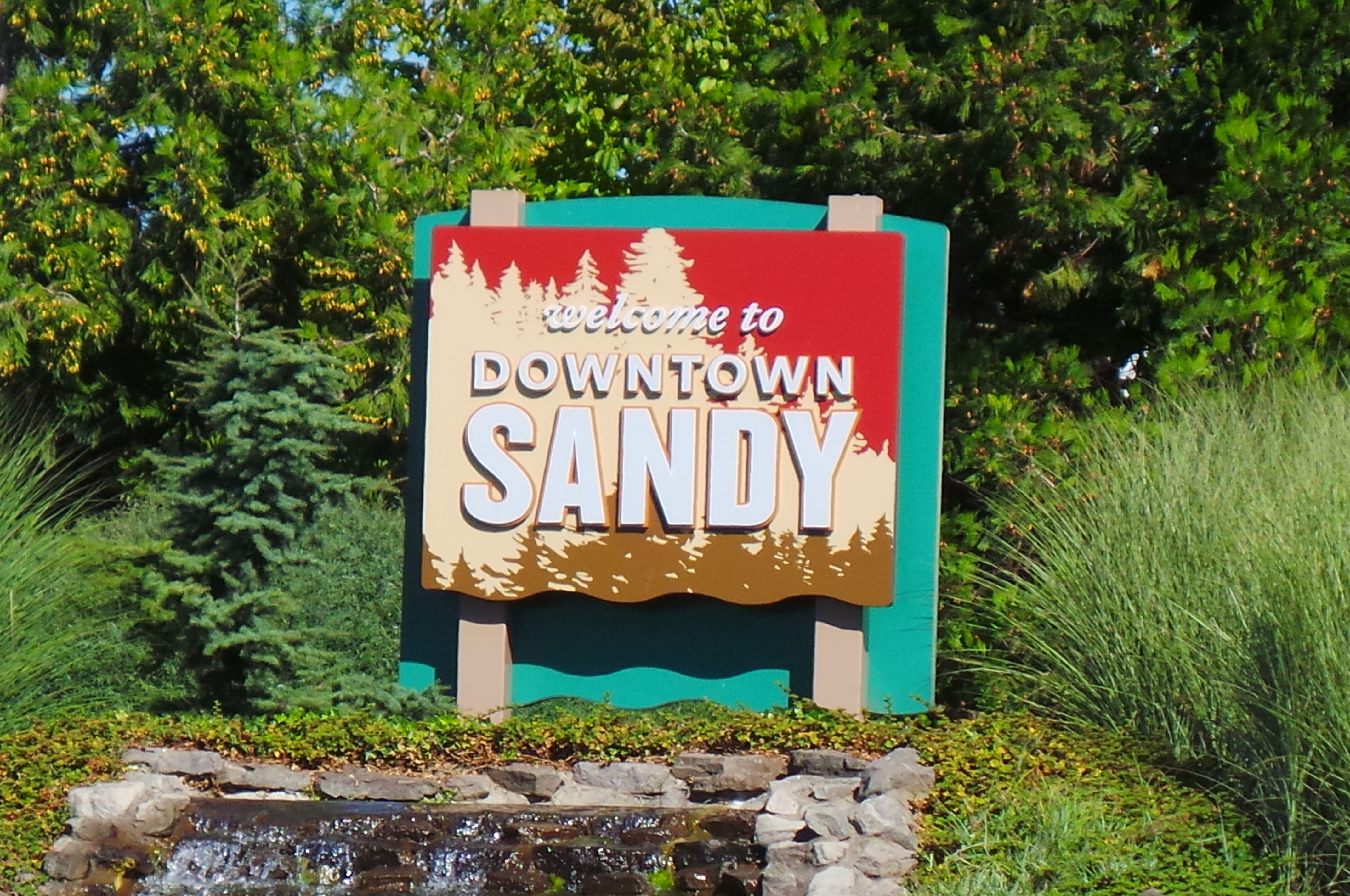 Welcome to Sandy Oregon Sign